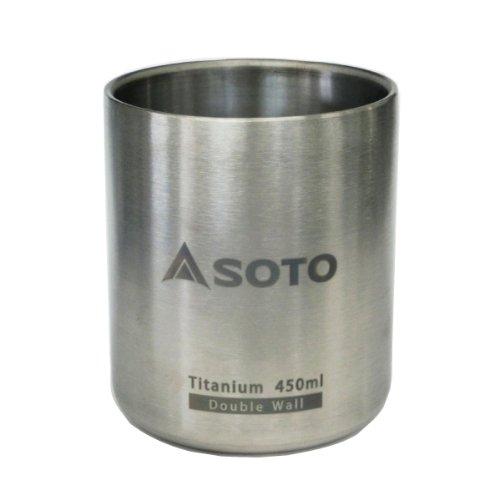 Soto Outdoors - Aeromug Titanium 450Ml Camping Mug - Light Weight & Durable