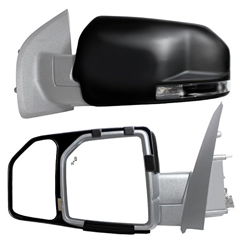 Big Save! Fit System 81850 Snap and Zap Tow Mirror Pair (2015 and Up F150)