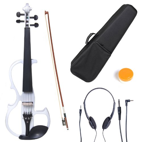 cecilio-l3-4cevn-l2w-left-handed-solid-wood-pearl-white-electric-violin-with-ebony-fittings-in-style