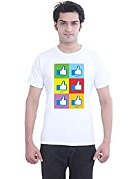 Like Pop Tantra Music India Graphic Humorous Funny 100 % Super-soft Combed Cotton Half Sleeve Printed T-Shirt...