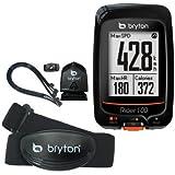 "Bryton Rider 100 GPS Cycling Computer (1.6"" display, 100T - With Cadence + HRM) Bryton"