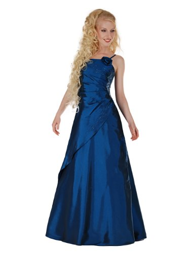 Envie/Paris – 1009 SOPHIA Abendkleid Ballkleid 1-teilig in Blau Gr. 46 / 146 cm
