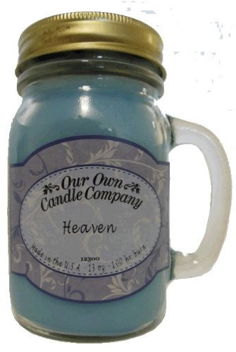 13oz HEAVEN Scented Jar Candle (Our Own Candle Company Brand) Made in USA - 100 hr burn time