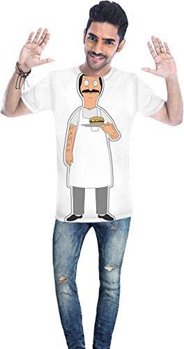 Bob's Burgers Bob Unisex T-shirt Men T-Shirt All-Over Full Print Stylish Fashion Fit Custom Apparel By Genuine Fan Merchandise XX-Large