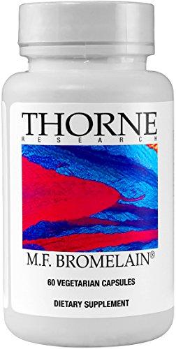 Thorne Research M.F. Bromelain, 60 Vegetarian Capsules (Ffp)