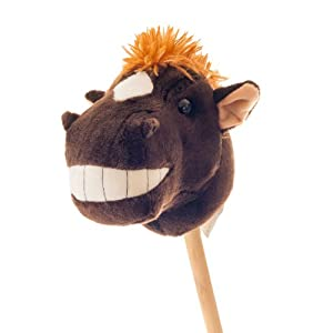 Happy Trails Henry the Horse Stick - Happy Trails Stick Horse Animals