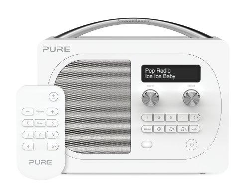 Pure Evoke D4 Portable DAB/FM Radio with Bluetooth - Glacier Black Friday & Cyber Monday 2014