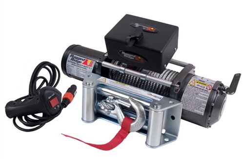 Rugged Ridge 15100.01 8,500-Pound Winch with Steel Cable