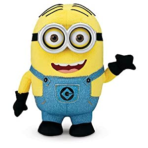 Despicable Me Minion Dave Interactive Plush by Thinkway Toys