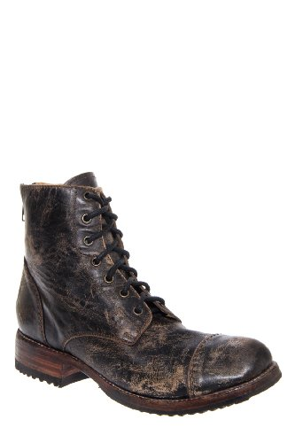 Bed|Stu Men'S Protege Low Heel Cap Toe Lace Up Ankle Boot