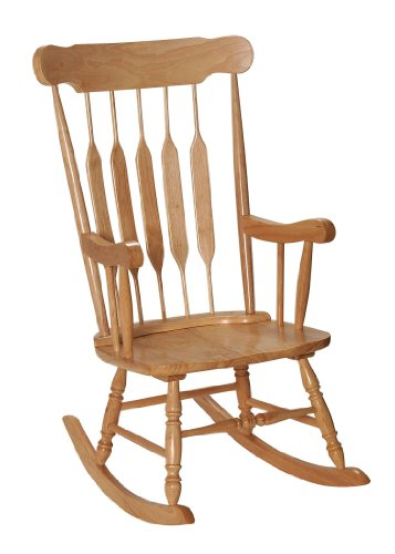 Adult Rocking Chair Natural front-266195