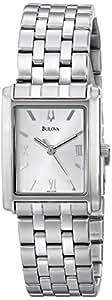 Bulova Women's 96L006 Analog Display Analog Quartz Silver Watch