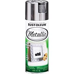 Rust-Oleum 1915830 SPECIALTY Metallic Spray Paint, Silver