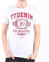 TOM TAILOR Denim Herren T-Shirt 10245280912/new print nos tee
