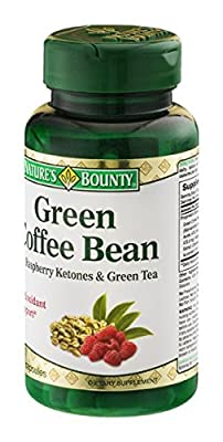 Nature's Bounty Green Coffee Bean - 60 ct
