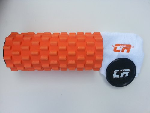 Complete Resistance Foam Roller Firm With Storage Caps And Free Towel Rae D Grossiy