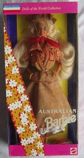 Australian Barbie - Dolls of the World Collection