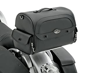 Saddlemen Cruis'n Tail/Trunk Bag - Black
