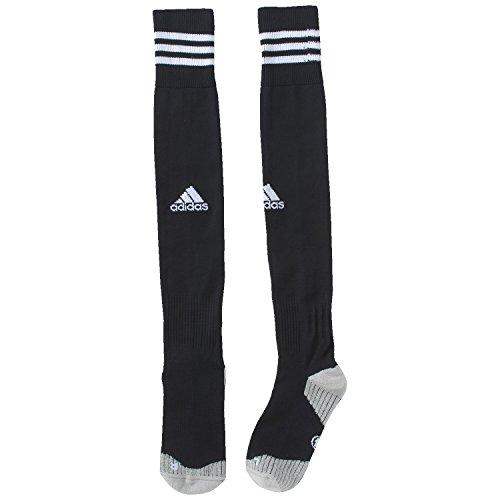 adidas, Calzini da calcio Uomo Adisocks 12, Nero (schwarz/weiß), 40/42