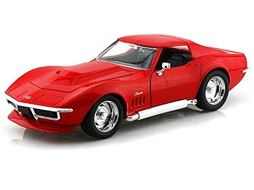 1969 Chevy Corvette Stingray ZL-1 1/24 Red (Collectible Model Cars compare prices)