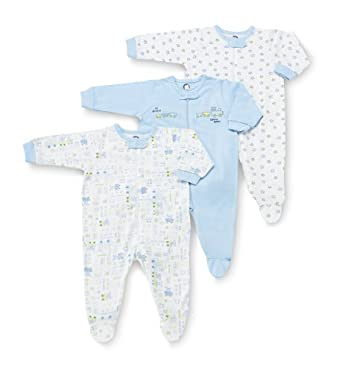 Gerber 3-Pack Zip Front Sleep 'N Play - Boy 2009, 6-9 Months