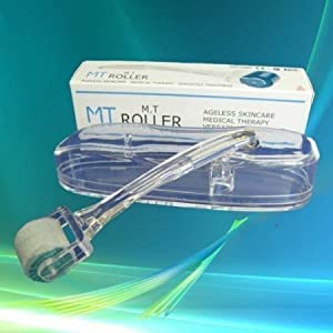 Pearl Enterprises M.T. ROLLER 1.0mm Micro Needle Roller Skin Care Therapy Dermatology System (Dermaroller)