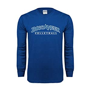 Blinn Royal Long Sleeve T-Shirt, XXX-Large, Volleyball