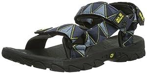 Jack Wolfskin Seven Seas - sandales Homme - gris/bleu Taille cadre 50