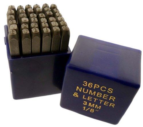 36 Pc 3mm 1/8