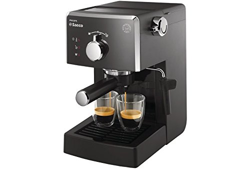 Saeco HD8423 / 11 - Manual espresso coffee machine, 950 W, black color