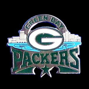 Green Bay Packers Pin - NFL Football Fan Shop Sports Team Merchandise
