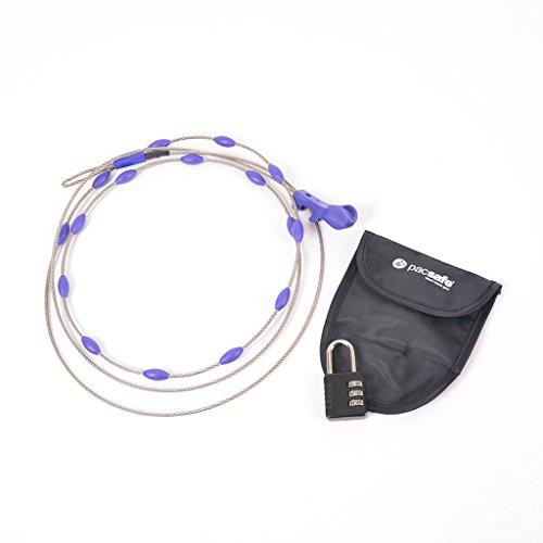 (パックセーフ) pacsafe ラップセーフ/鍵/スーツケース、ゴルフバック、自転車施錠 Wrapsafe Adjustable Cable Lock 10520999 [並行輸入品]