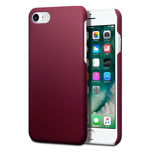 iPhone-7-Cover-Terrapin-Cover-di-Gomma-Rigida-per-iPhone-7-Custodia-Colore-Rosso