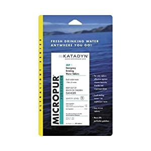 Katadyn MicroPur Purification Tablets - 30 Pack
