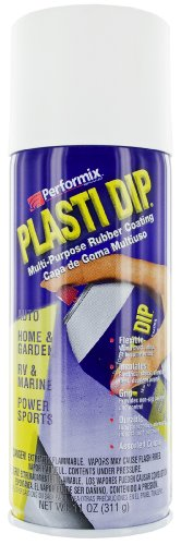 Performix 11207 Plasti Dip White Multi-Purpose Rubber Coating Aerosol - 11 oz. (White Vinyl Spray Paint compare prices)