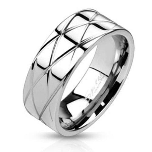 paula-fritz-anello-in-acciaio-inox-chirurgico-316l-lucidato-con-scanalature-nel-bianco-cheerio-dispo