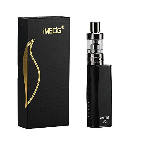 IMECIG® V2 E Zigaretten Starterset, Mod Box Mini...