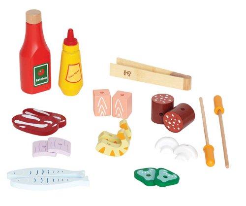 Hape - Playfully Delicious - Shish Kabob Basics - Play Set