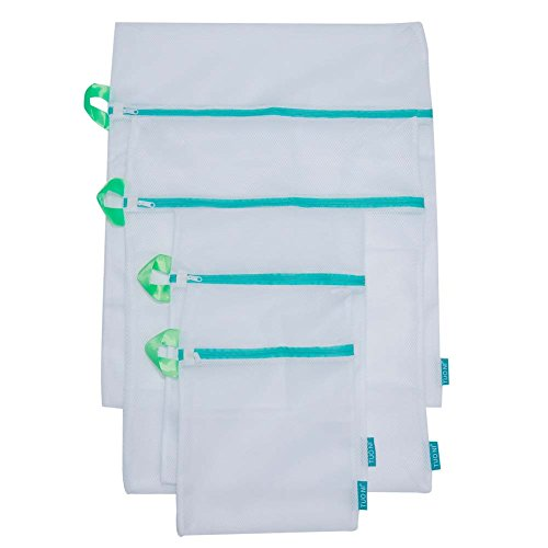 Tuoni Laundry bag. Keep All Your Delicates Looking Like New with a Set of 4 Mesh Laundry Bags for Lingerie, Socks, Pantyhose, Baby Clothes and Stuffed Toys. Use in Both Washing Machine and Dryer (Garment Bags Set Of 13 compare prices)