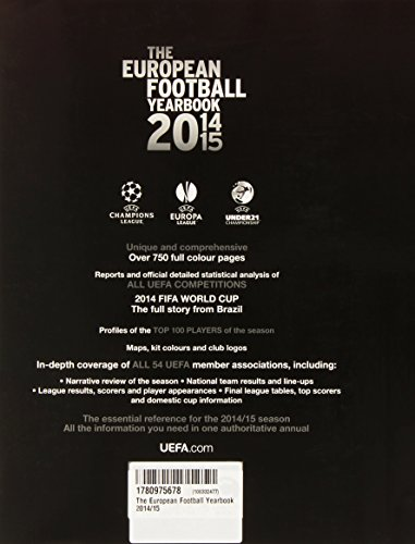 The European Football Yearbook 14-15