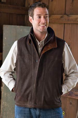 Men's Traveler Vest - Buy Men's Traveler Vest - Purchase Men's Traveler Vest (Overland, Overland Vests, Overland Mens Vests, Apparel, Departments, Men, Outerwear, Mens Outerwear, Vests, Leather, Leather Vests, Mens Vests, Mens Leather Vests)