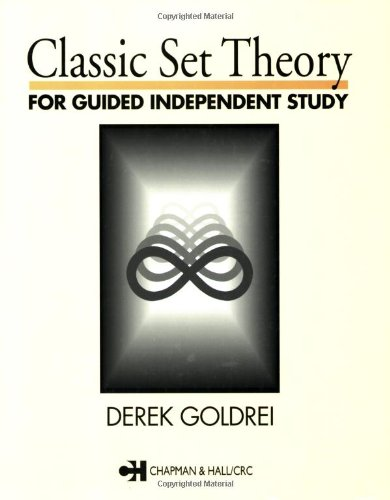 Classic set theory: For guided independent study