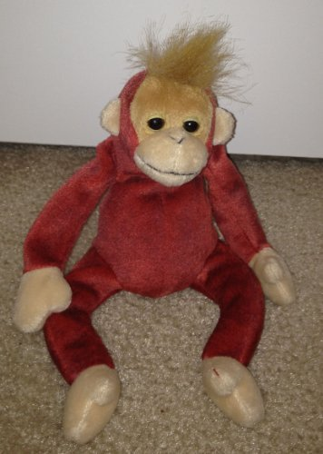 TY Beanie Babies Schweetheart the Monkey Plush Toy Stuffed Animal by G72824794 - 1