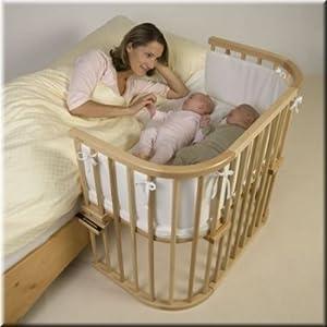 Tobi Babybay: Babybett Maxi Buche lackiert