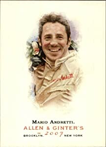 Buy 2007 Topps Allen and Ginter #19 Mario Andretti by Topps