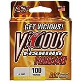 Vicious Fishing PPYL-10 Panfish Copolymer Fishing Line, 100-Yard, Hi-Vis Yellow