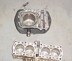 1995 Kawasaki KZ 1000 P Police Engine Cylinders