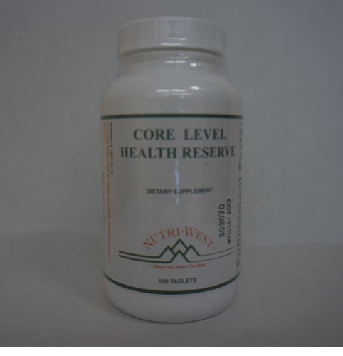 Nutri-West - Core Level Health Reserve - 120