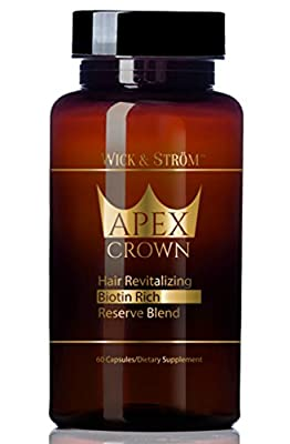 Hair Loss Vitamins - Biotin Rich Hair Growth Support Help w/ Saw Palmetto & Keratin Treatment Supplement. (Select Hair Loss Products Formula for Men & Women) (DHT Blocking Hair Treatment Restoration)