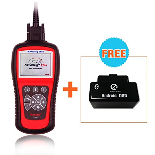 Autel Md802 OBD2/EOBD Scan Tool for Engine, ABS, Airbag, Auto Transmission, EPB, OIL Service Reset, Major Electronic Modules (Srs Module Reset compare prices)